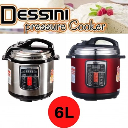 [READY STOK] KCJ DESSINI PREMIUM 6L ELECTRIC PRESSURE COOKER MULTI COOKER RICE COOKER