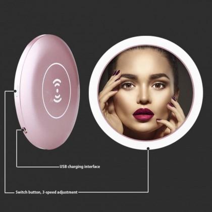 KCJ Multifunctional Portable Wireless Charging LED Makeup Mirror