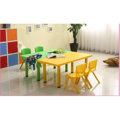 [ETA 10/11] KCJ Kids Table Kids Meja Budak Kindergarden Kindergarten Table Adjustable Height